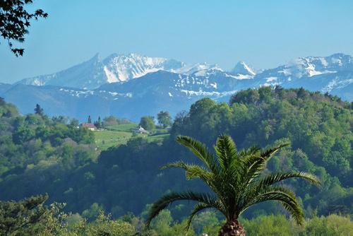 Paysage des Pyrénées atlantiques
